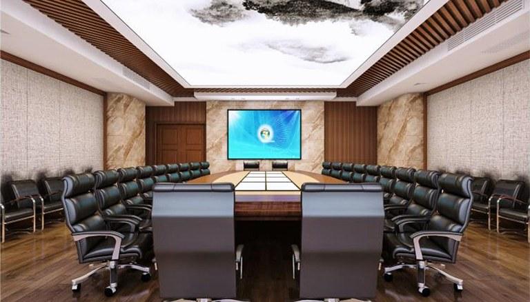 容纳百川、汇聚众智的大会议室
